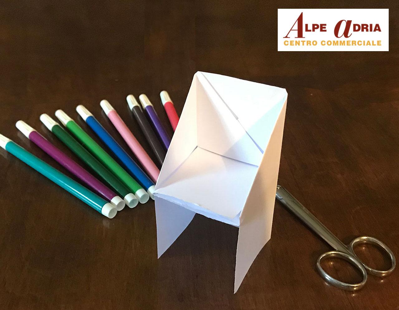 Gioca con noi - La poltroncina di carta! - Centro Commerciale Alpe Adria